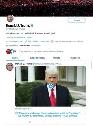 Твиттер заблокировал пост Трампа