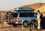 автомобильный бокс thule устанавливается на крышу автомобиля