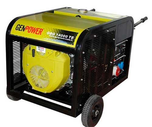 Продам генератор бензиновый 3-х фазный 12кВт