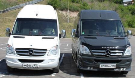 Автобус Mercedes Lux