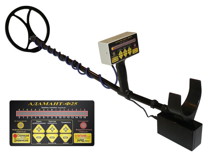Металлоискатель  Адамант – Ф25