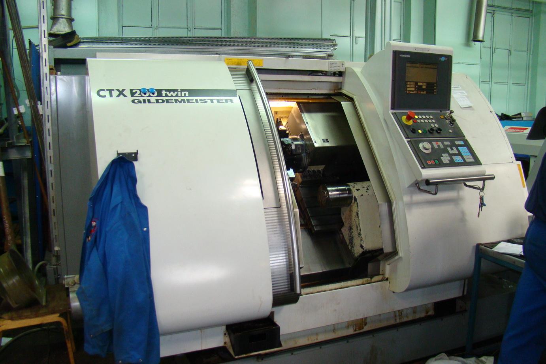 Токарный Gildemeister CTX-200 Twin, 2000