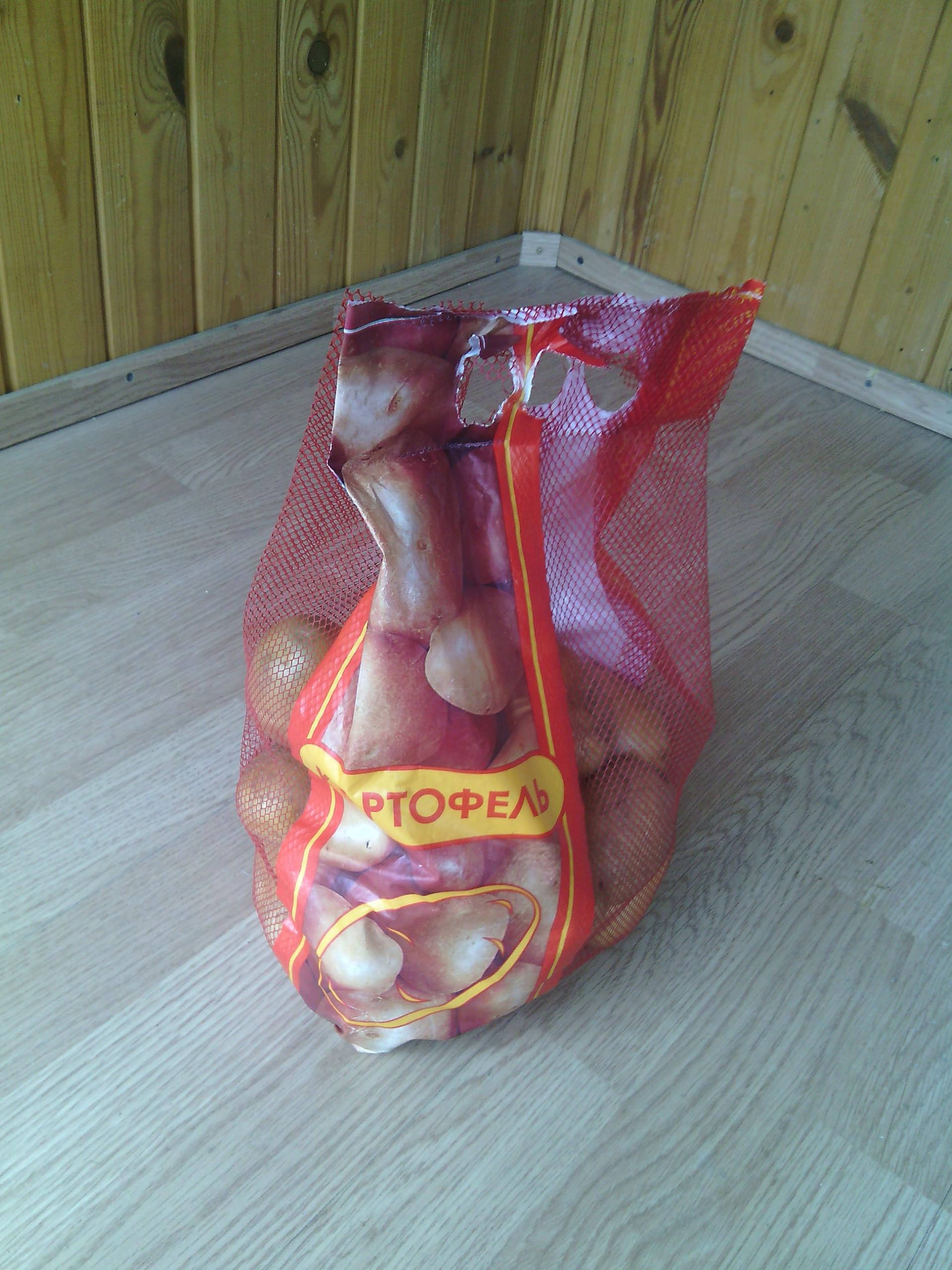"""Картофель упакованный в сетку """"Домик"""" 2,5 кг"""