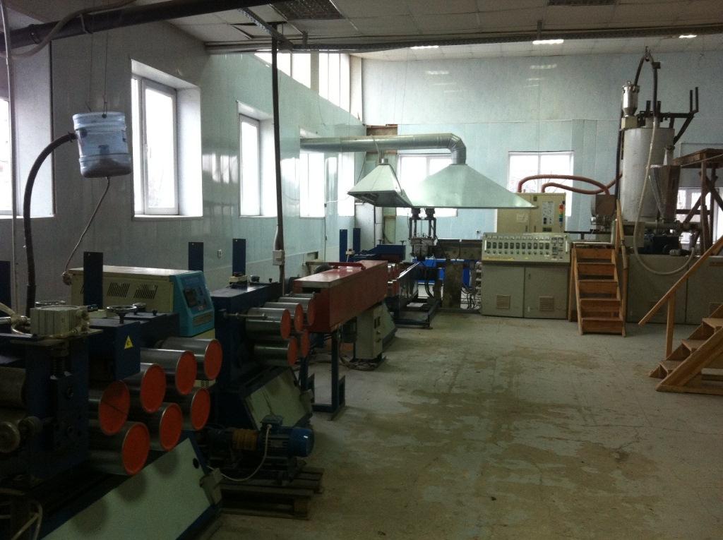 Продам производственную линию для выпуска упаковочной ленты из РЕТ