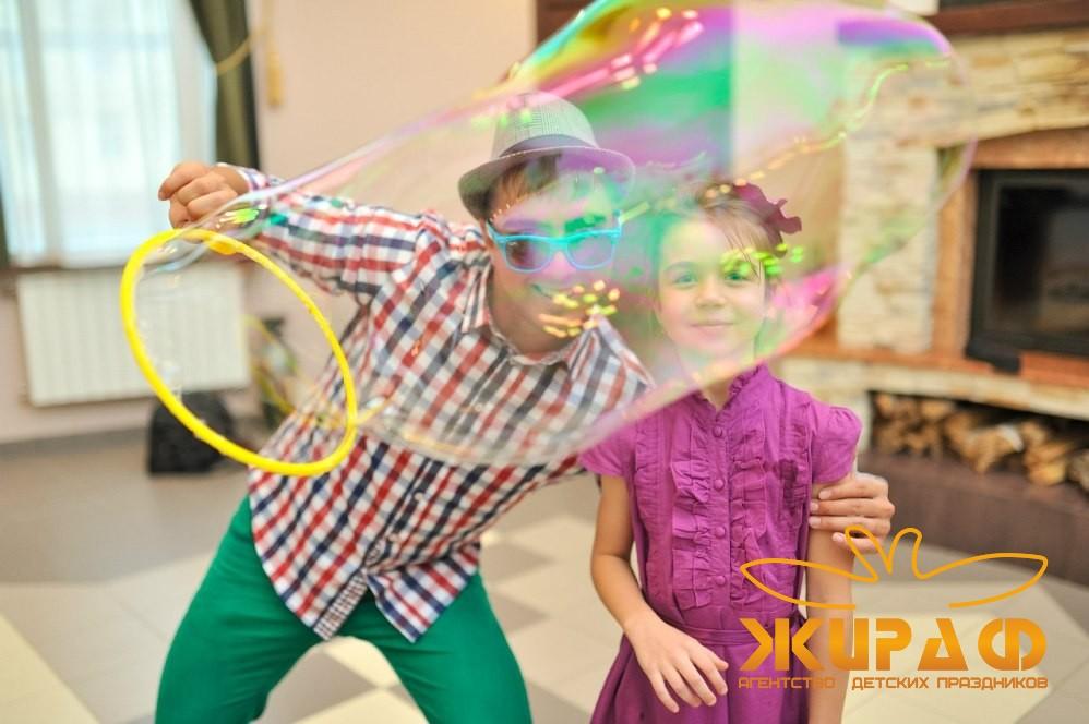 Мыльные пузыри на детские праздники в Уфе