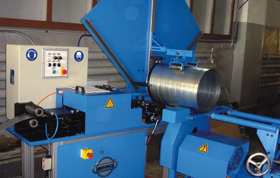 Оборудование для производства вентиляции воздуховодов и водостоков