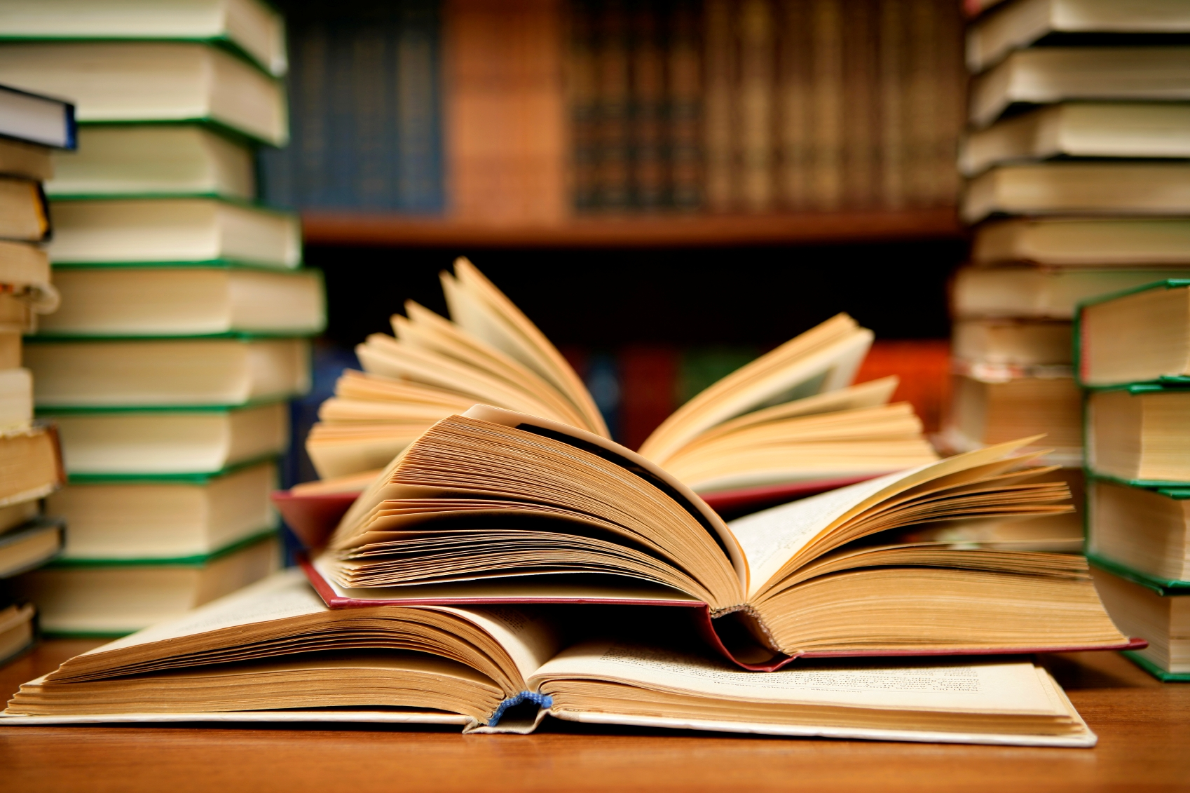 Принимаем книги