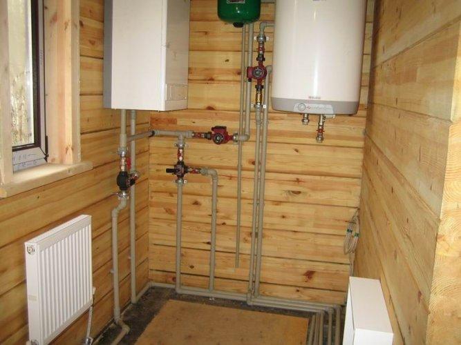 Монтаж отопления,водоснабжения,канализации,теплых полов.