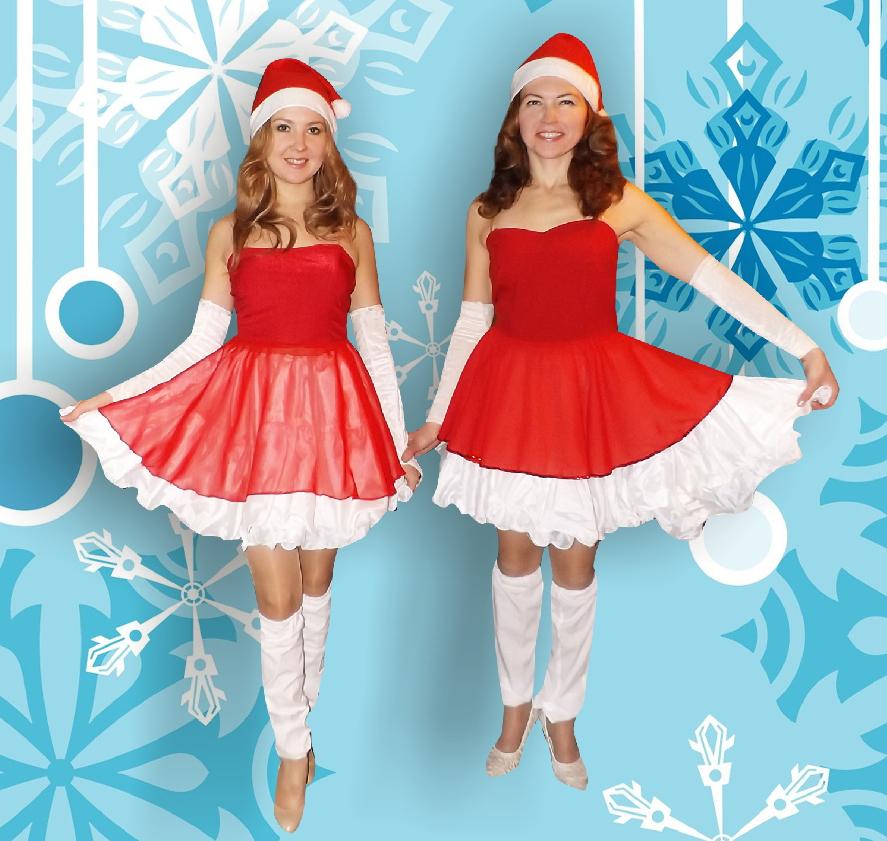 Две Снегурочки+ клевый Дед Мороз: новогодняя программа для корпоративов