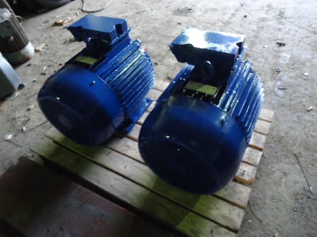 Электродвигатели трехфазные бу, с хранения, новые