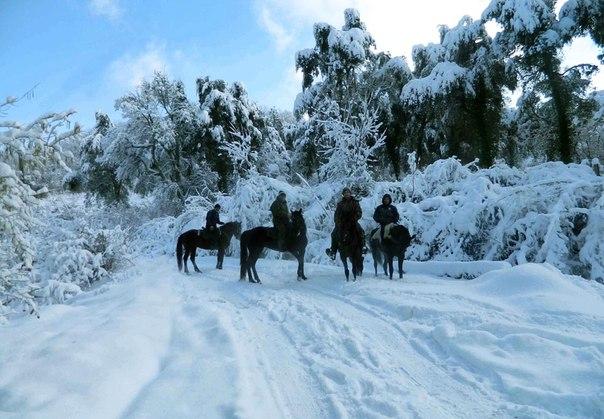 Зимний отдых на Южном Урале