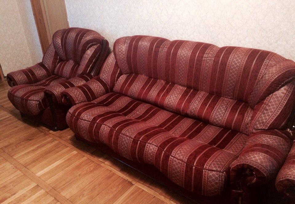 Диван и 1 кресло