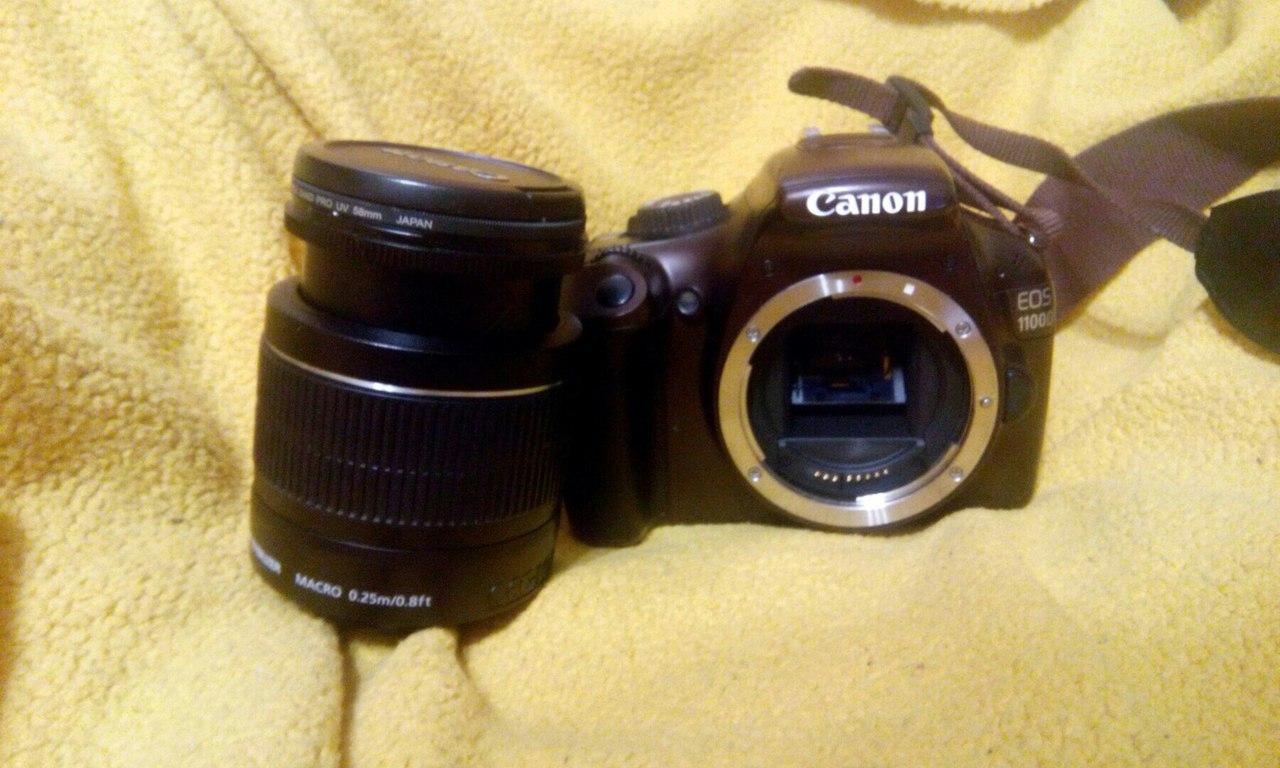 Продам: фотоаппарат Canon EOS 1100D