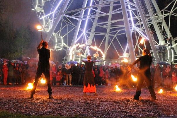 Фаер шоу Уфа, огненное шоу, световое шоу Wanderers