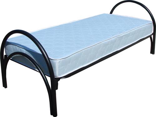 Одноярусные металлические кровати для вагончиков, кровати одноярусные, кровати армейские, дёшево.