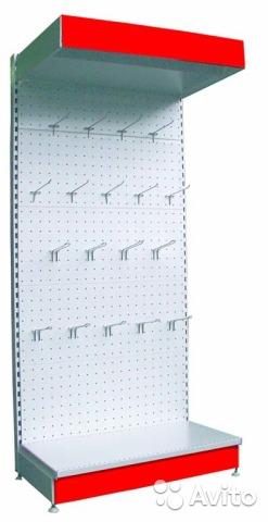 Стеллаж перфорированный 1950x900x500