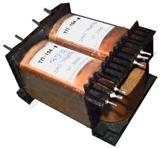 Сухие маломощные трансформаторы (1-400 Вт; 1/3-х фазные; 50,400,1000 Гц), магнитопроводы