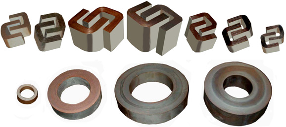 Мгнитопроводы (на 50 , 400 ,1000 Гц) любой геометрии заказчика