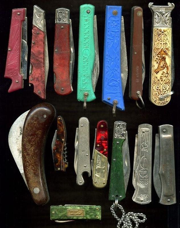 Куплю перочинные ножи CCCР