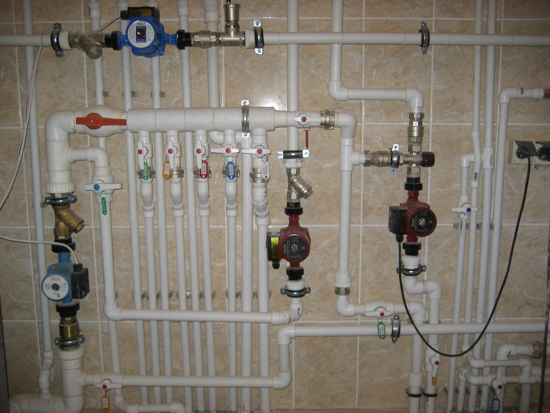 Отопление, водоснабжение, канализация коттеджей