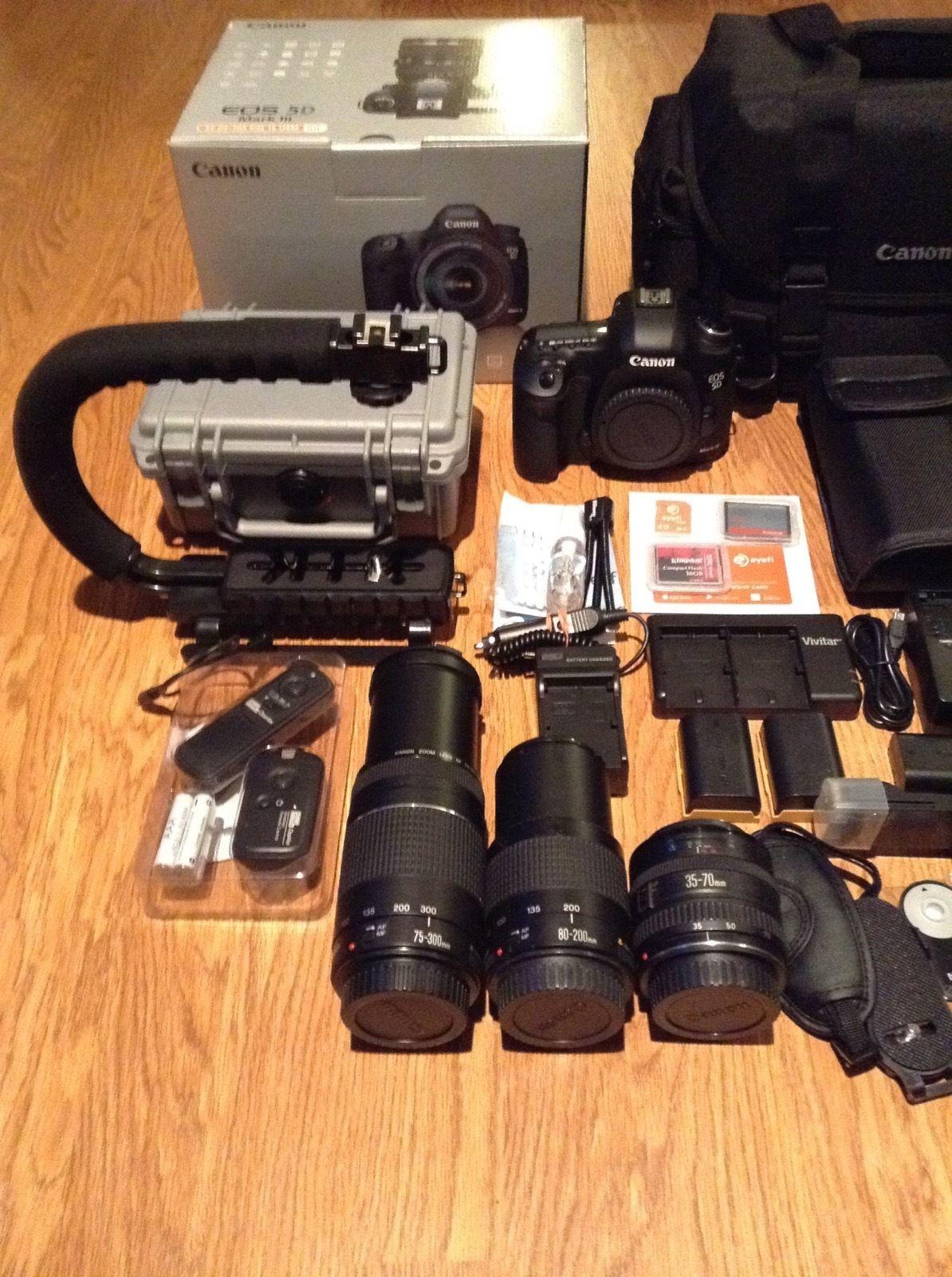 Совершенно новый Canon EOS 5D Mark III