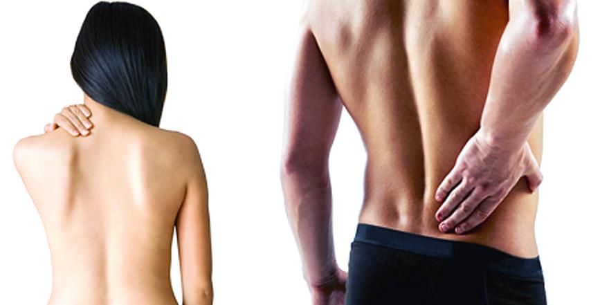 Профессиональный массаж при заболеваниях позвоночника.