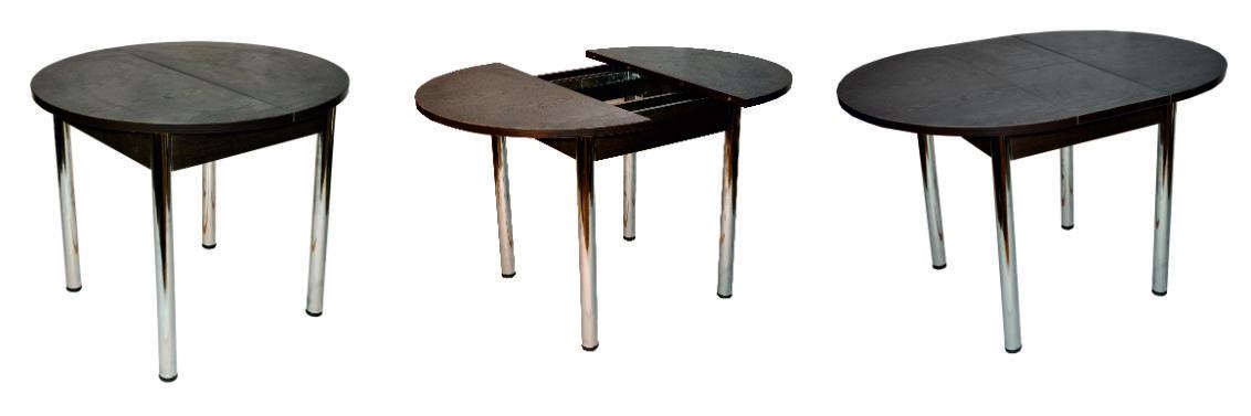 Обеденные столы оптом, напрямую от производителя. Хром.