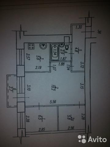 Продам 3-х комнатную на Ульяновых 48