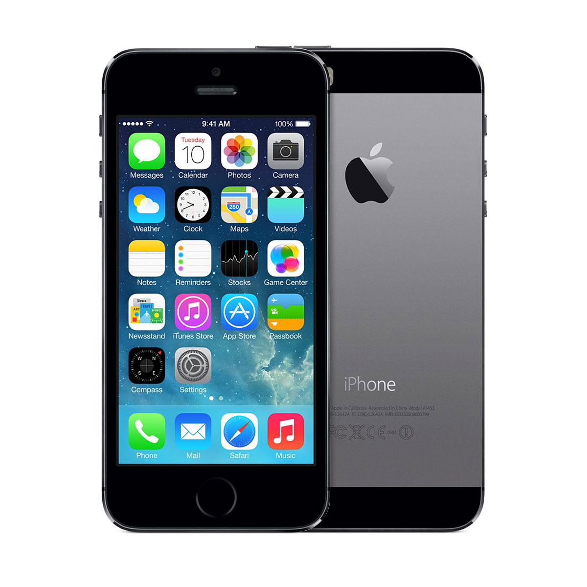 Смартфон APPLE IPHONE 5S SPACE GRAY 16Гб
