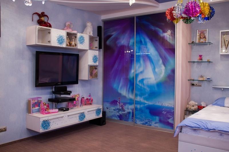 Шкафы-купе для детских комнат на заказ