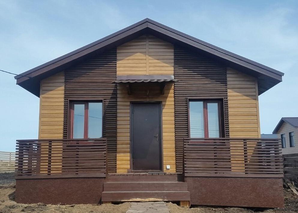 Финский поселок в Осоргино. Дом 35м2 + 7 соток