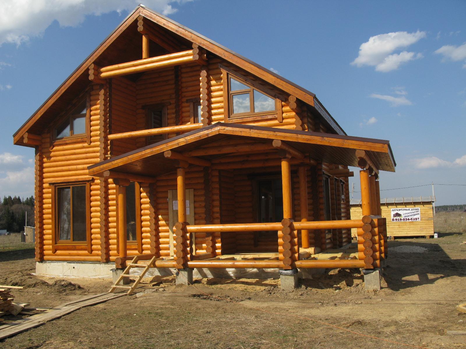 Cтроим деревянные дома и бани по рб