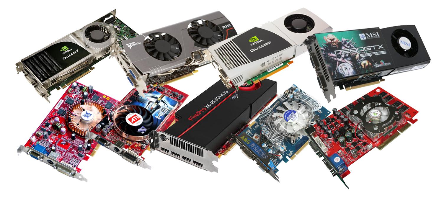 Куплю любую рабочую видеокарту PCI-E