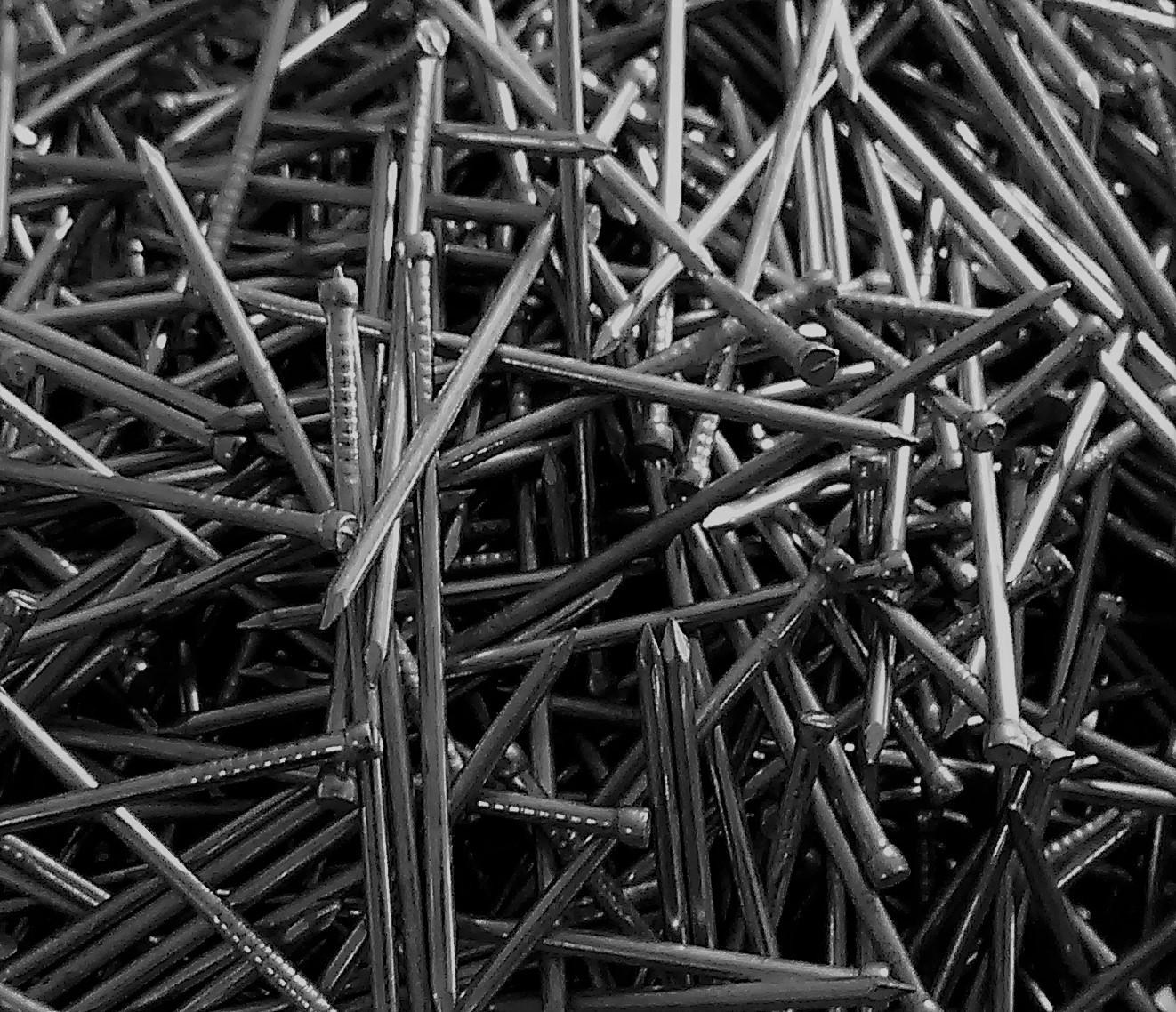 Гвозди строительные, финишные отделочные Скобы штыри