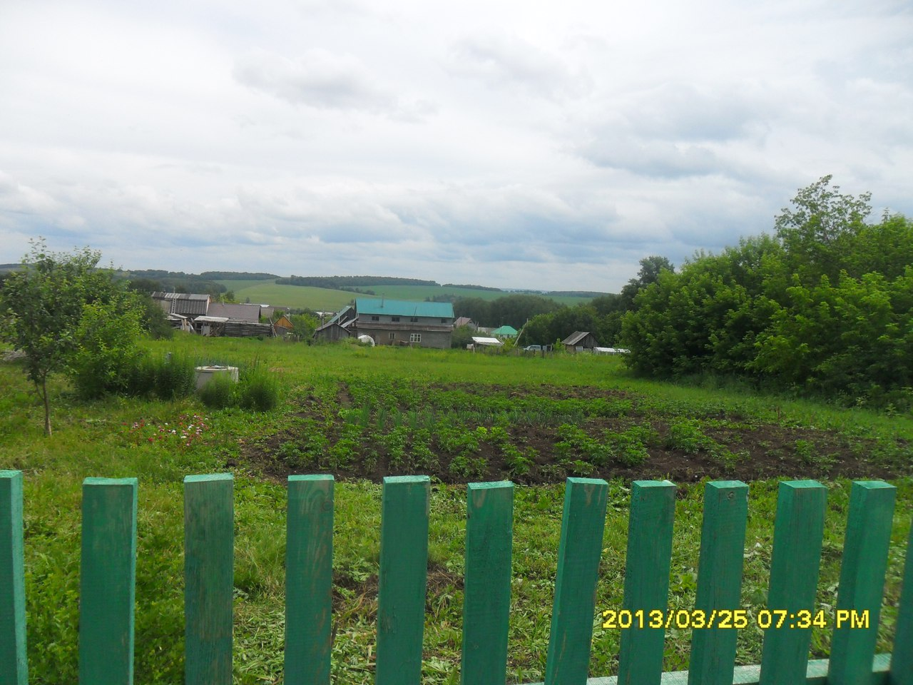 участок поселок Буденновский иглинского района