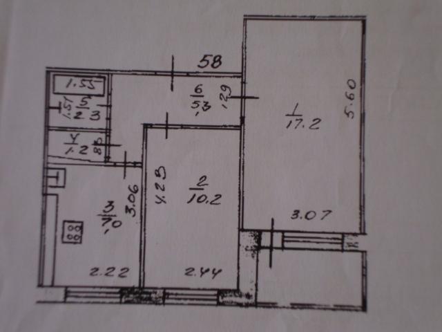 продам двухкомнатную квартиру