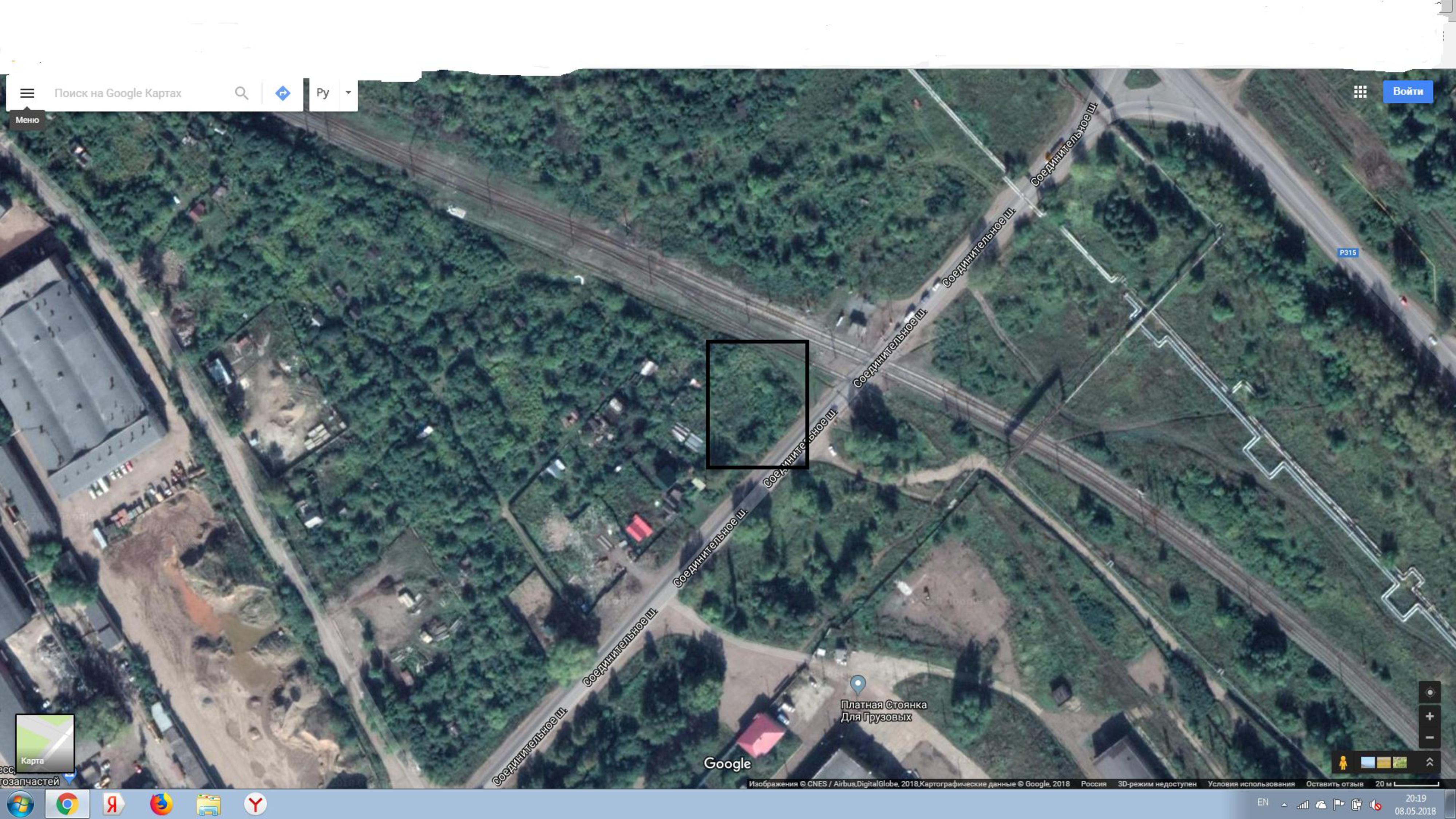 13.4 сотки на 1-ой линии в собственности в Уфе