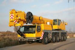 Услуги автокрана Liebherr LTM 1120 (100 тонн)