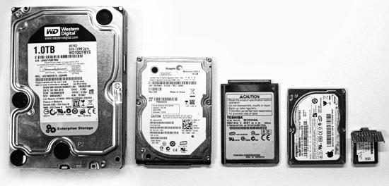 скупка жёстких дисков и SSD накопителей