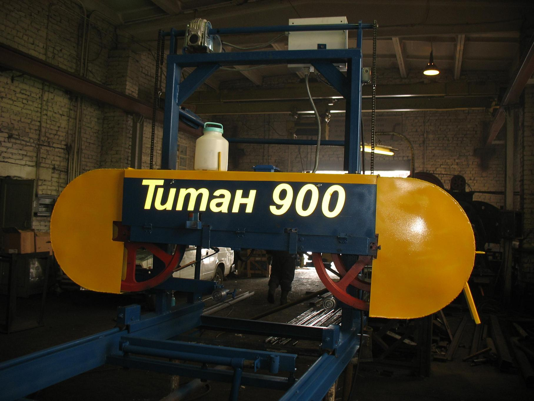 Предлагаем  ленточные пилорамы Титан-900 со склада в Уфе