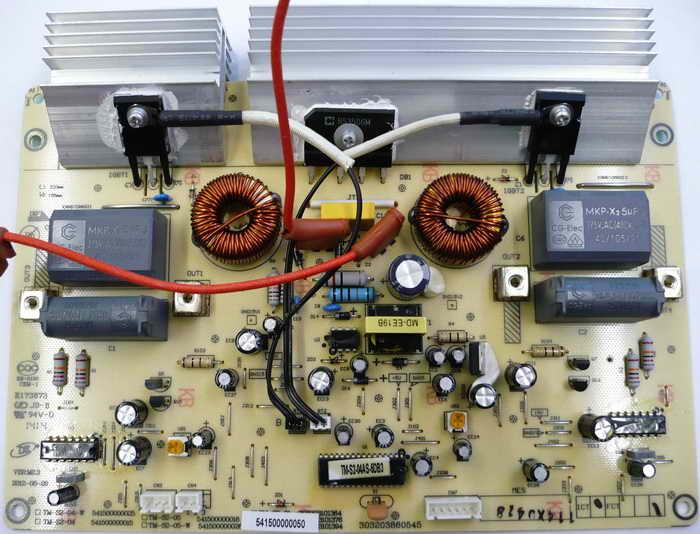 Ремонт индукционных варочных панелей.