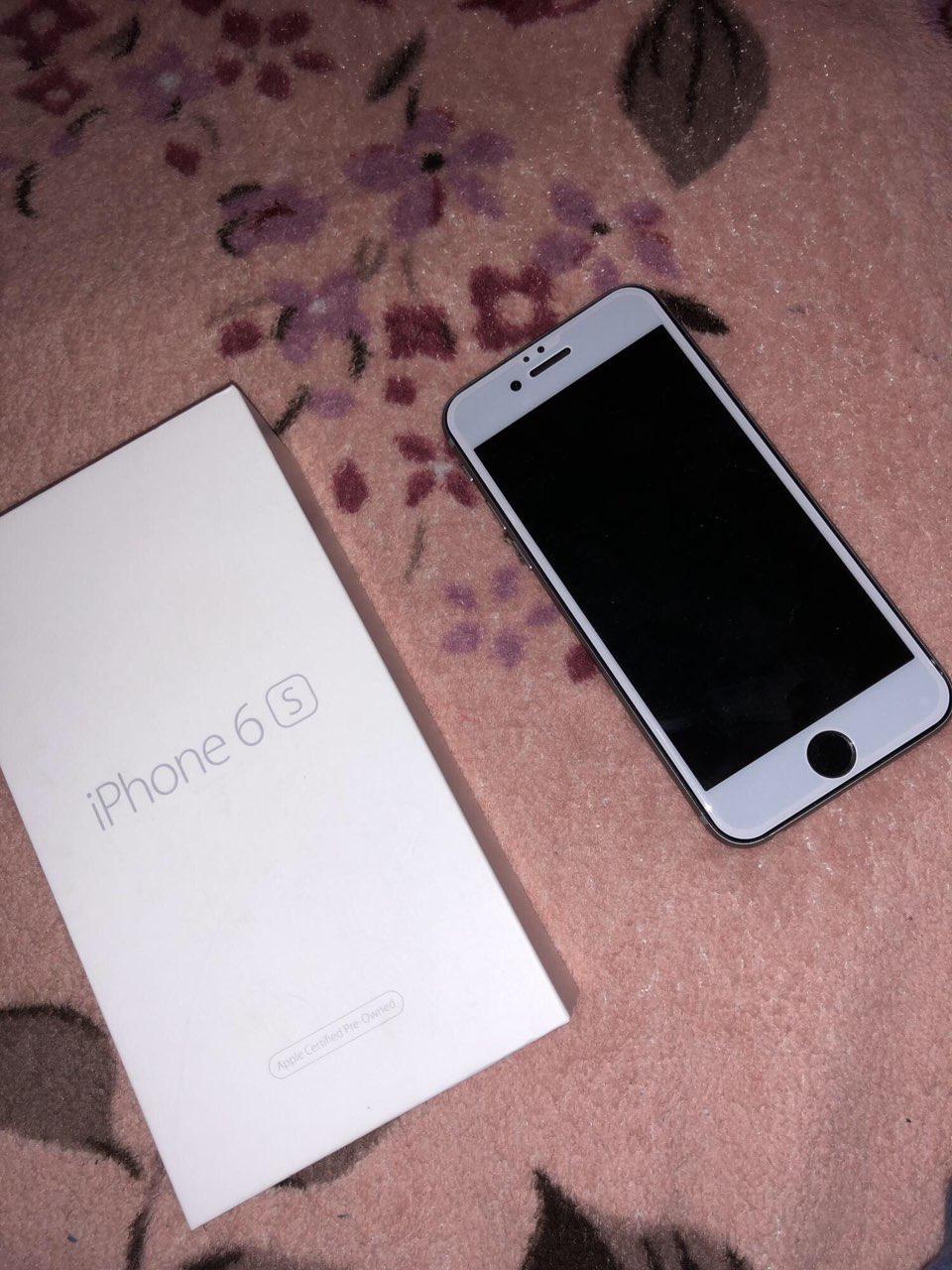 Продается Iphone 6s 64Gb памяти, с упаковкой вместе