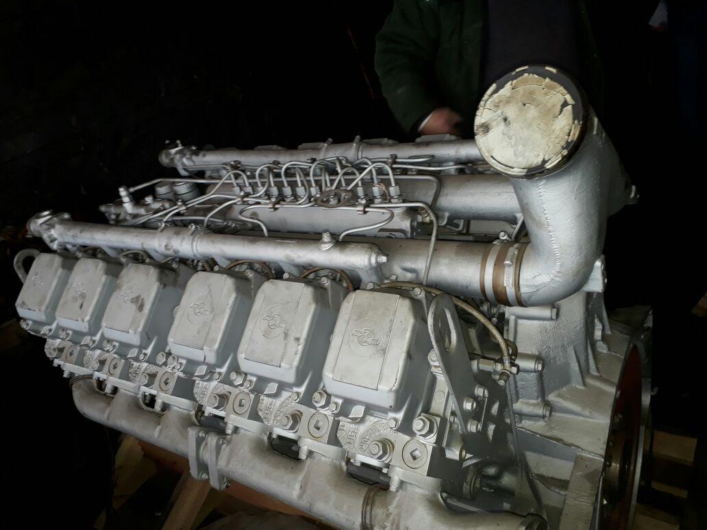 двигатель ямз-240 нм-2  с малой нароботкой