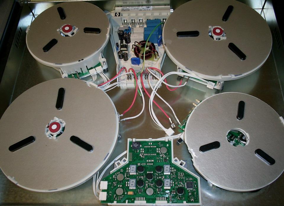 Ремонт электрических варочных панелей