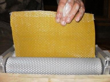 ОБОРУДОВАНИЕ для пчеловодов! ВАЛЬЦЫ для изготовления вощины