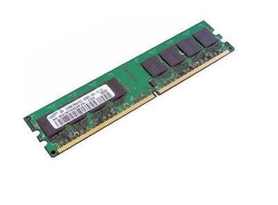 2 Модуля ОЗУ б/у DDR II 1024Mb PC-6400 Samsung