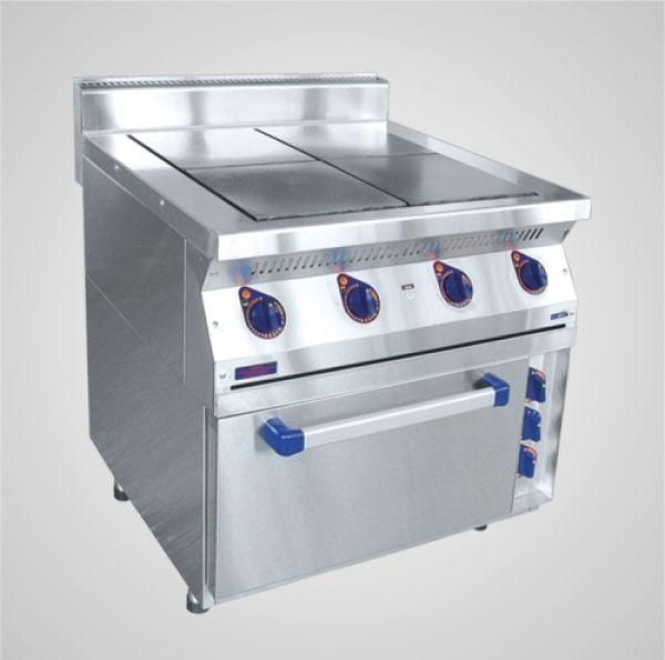 Плита эл. 4-х конфор с жарочным шкафом