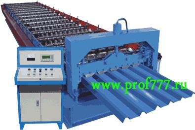Автоматическое оборудование для производства  профнастила HC 35 из Китая