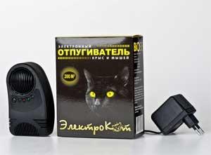 Отпугиватель Грызунов Электрокот.