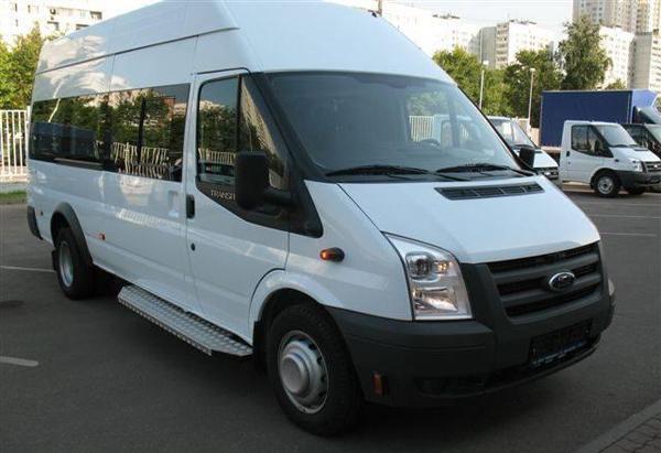 Аренда и заказ микроавтобуса Форд транзит в Уфе